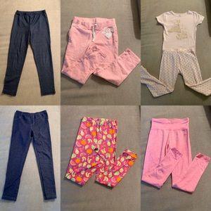 Little Girls Leggings Pants Set Justice Carter's